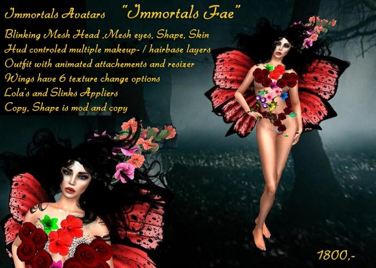 Immortals Fae salespic