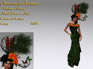 Mother Nature Outfit salespic